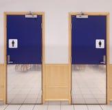 Είσοδος Toilette Στοκ εικόνες με δικαίωμα ελεύθερης χρήσης