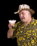 Είχε ένα πάρα πολύ Margaritas! Στοκ εικόνα με δικαίωμα ελεύθερης χρήσης