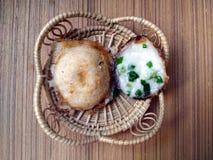 Είδος ταϊλανδικών sweetmeat και καφέ Στοκ Φωτογραφίες