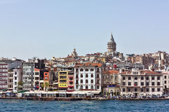 Είδος Istambul από Bosphorus Στοκ Εικόνες