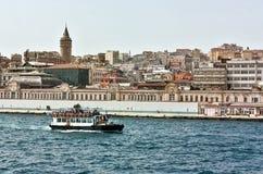 Είδος Istambul από Bosphorus Στοκ Φωτογραφίες