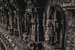 Είδωλο του ινδού Λόρδου Vishnu Στοκ Εικόνα