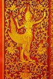 Είδωλο χάραξης του αγγέλου από την ταϊλανδική νεράιδα Στοκ Εικόνες