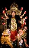 Είδωλο Geddess Durga Στοκ Φωτογραφίες