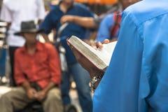 Εβαγγελικός ιεροκήρυκας Στοκ φωτογραφία με δικαίωμα ελεύθερης χρήσης