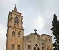 Εβαγγελική Επισκοπική Εκκλησία του ST John στη Χάιφα Ισραήλ στοκ εικόνες