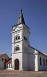 Εβαγγελική λουθηρανική εκκλησία σε Marijampole Λιθουανία στοκ φωτογραφίες με δικαίωμα ελεύθερης χρήσης