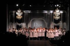 εβδομάδα του Παρισιού μόδας dior Στοκ Εικόνες