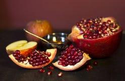 Εβραϊκά τρόφιμα. Στοκ εικόνες με δικαίωμα ελεύθερης χρήσης