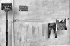 Εβραϊκή περιοχή Στοκ φωτογραφίες με δικαίωμα ελεύθερης χρήσης