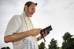 εβραϊκή προσευχή Στοκ φωτογραφία με δικαίωμα ελεύθερης χρήσης