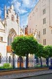 Εβραϊκή συναγωγή στην Πράγα στοκ φωτογραφίες με δικαίωμα ελεύθερης χρήσης