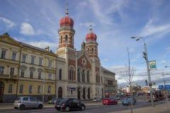 εβραϊκή συναγωγή Στοκ Φωτογραφία