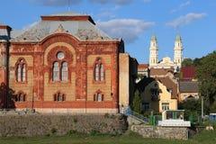 Εβραϊκοί συναγωγή και καθεδρικός ναός Στοκ Φωτογραφίες