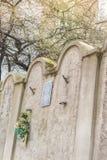 Εβραϊκός τοίχος γκέτο, Κρακοβία, Πολωνία στοκ φωτογραφίες