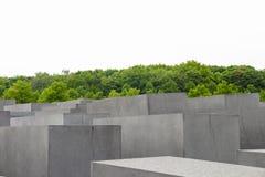 Εβραϊκό αναμνηστικό μνημείο ολοκαυτώματος στην πόλη του Βερολίνου Στοκ φωτογραφία με δικαίωμα ελεύθερης χρήσης