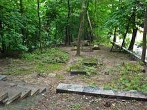 Εβραϊκό νεκροταφείο σε Babi Yar Στοκ Εικόνα