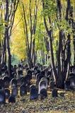 Εβραϊκό νεκροταφείο Στοκ φωτογραφία με δικαίωμα ελεύθερης χρήσης