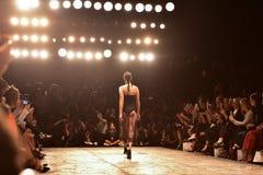 Εβδομάδα μόδας συλλογής MISHA Στοκ Φωτογραφία