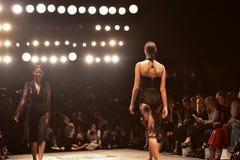 Εβδομάδα μόδας συλλογής MISHA Στοκ Εικόνα
