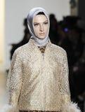 Εβδομάδα FW 2017 μόδας της Νέας Υόρκης - συλλογή Anniesa Hasibuan Στοκ Φωτογραφία
