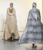 Εβδομάδα FW 2017 μόδας της Νέας Υόρκης - συλλογή Anniesa Hasibuan Στοκ εικόνα με δικαίωμα ελεύθερης χρήσης