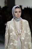 Εβδομάδα FW 2017 μόδας της Νέας Υόρκης - συλλογή Anniesa Hasibuan Στοκ εικόνες με δικαίωμα ελεύθερης χρήσης