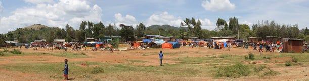 Εβδομαδιαία αγορά, βασικό Afer, Αιθιοπία, Αφρική Στοκ φωτογραφία με δικαίωμα ελεύθερης χρήσης