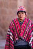 Εγγενές Quechua άτομο Στοκ φωτογραφία με δικαίωμα ελεύθερης χρήσης