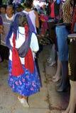 Εγγενής γυναίκα zapotec στοκ φωτογραφία