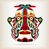Εγγενής ινδική αμερικανική μάσκα ύφους Στοκ Φωτογραφία