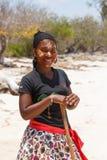 Εγγενή Malagasy εθνικά κορίτσια Sakalava, ομορφιές με το διακοσμημένο πρόσωπο Στοκ φωτογραφίες με δικαίωμα ελεύθερης χρήσης