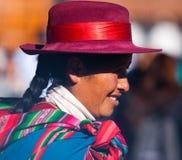 Εγγενείς περουβιανές γυναίκες Περού Στοκ φωτογραφία με δικαίωμα ελεύθερης χρήσης