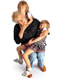 Εγγονές και γιαγιά Στοκ Εικόνα