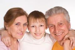 εγγονός παππούδων και γι&a Στοκ Εικόνες