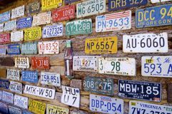 Εγγραφές αυτοκινήτων Στοκ εικόνες με δικαίωμα ελεύθερης χρήσης