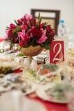 Εγγραφή γαμήλιων ντεκόρ των πινάκων στοκ φωτογραφίες με δικαίωμα ελεύθερης χρήσης