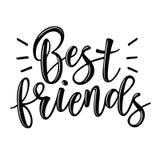 Εγγραφή καλύτερων φίλων απεικόνιση αποθεμάτων