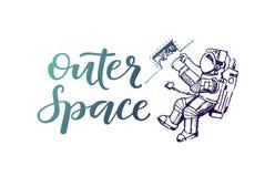 Εγγραφή μακρινού διαστήματος Στοκ Εικόνες