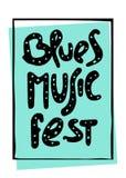 Εγγραφή φεστιβάλ μουσικής Απεικόνιση αποθεμάτων