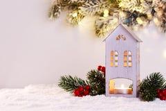 εγγραφή χαιρετισμών Χριστουγέννων καρτών εύθυμη Στοκ φωτογραφίες με δικαίωμα ελεύθερης χρήσης