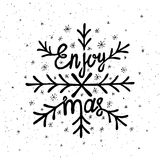 Εγγραφή Χριστουγέννων Στοκ εικόνα με δικαίωμα ελεύθερης χρήσης