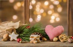 Εγκάρδια σεβασμοί Χριστουγέννων Στοκ φωτογραφία με δικαίωμα ελεύθερης χρήσης