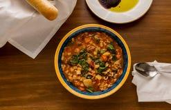 Εγκάρδιο ιταλικό πιάτο Στοκ Εικόνες