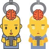 Εγκέφαλος που κλέβεται Στοκ Εικόνα