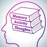 Εγκέφαλος που μαθαίνει 1 Στοκ Φωτογραφία