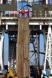 εγκατάσταση γεώτρησης διατρήσεων στοκ φωτογραφία με δικαίωμα ελεύθερης χρήσης