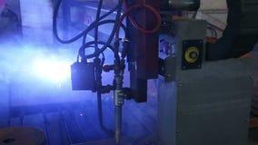 Εγκατάσταση για την κοπή πλάσματος του μετάλλου στις μηχανικές εγκαταστάσεις φιλμ μικρού μήκους