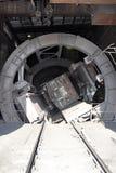 Εγκατάσταση για το βαγόνι εμπορευμάτων χτυπήματος (να τοποθετήσει αιχμή) (μερικές φορές δύο) και SP στοκ φωτογραφίες