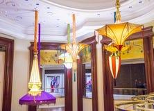Εγκατάσταση λουλουδιών ξενοδοχείων του Λας Βέγκας Wynn Στοκ Φωτογραφίες